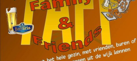 Friday Afternoon Family & Friends 26 feb: in Wijkhuis 't BrandPunt Brandevoort
