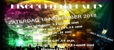 Disco Party in 't BrandPunt