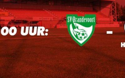 SV Brandevoort speelt tegen Helmond Sport