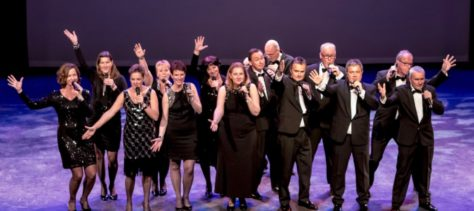 Vocal group Just Us treed op in 't BrandPunt