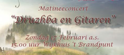 Koor Druzhba en gitaar in concert